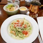 椿屋カフェ - 他店舗のパスタ