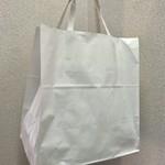 泰元食堂 - 弁当1つから紙袋での提供