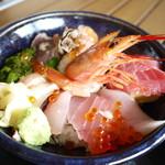 お魚いちば おかせい - 女川丼アップ