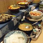 ケイズカフェ - バイキングの和食コーナー