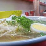 いごっそ - 塩ラーメン 鶏スープです。 600円 08 07