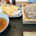 そば打ち 松林 - 季節の天ぷらとざるそば