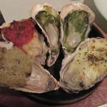 NERIMA OYSTER BAR - 「牡蠣のグリル5種」
