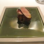 リストランテ カノフィーロ - インカのメザメのコンフィとタラコのボッタルガ