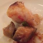 Lucci - 鱈のソテー  食べかけ…(^_^;)