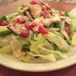 Lucci - 知床産ハーブ鶏のシーザーサラダ