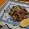 魚がし寿司 - 料理写真:あじタタキ