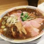 サバ6製麺所 - 1702 サバ6製麺所 サバ醤油そばセット(半焼飯)@900円