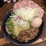 東京担々麺  ゴマ哲 - 全部入り汁なし担々麺(大盛)