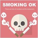 62808536 - 非喫煙者はお断りです(-_-#)
