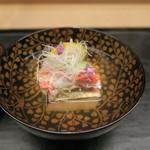 62808660 - 29年2月 ズワイ蟹と焼豆腐の澄まし椀 アップ