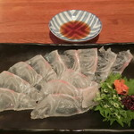 62809469 - 「真鯛のうす造り」780円