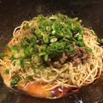 62809768 - 汁なし坦々麺(大盛り3辛)