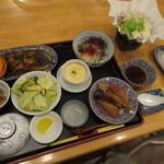 ペンションうーにー - ビジネスプランの夕食 (2017.1)