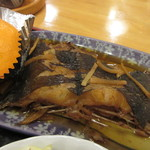 ペンションうーにー - 赤ガレイの煮物