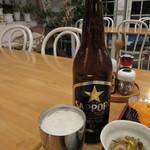 ペンションうーにー - 瓶ビール 750円