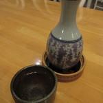 ペンションうーにー - 日本酒 熱燗 540円