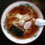 いかり食堂 - 料理写真:正油ラーメン