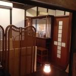 シェ・トワ - 入り口