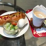 CAFE 101 - ホットドッグモーニング400円(税込) ※ドリンク代のみ