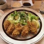 酒場TORA - H29.2 カキフライ定食