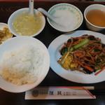 Miga - キクラゲと玉子炒め ¥850-