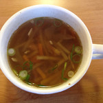 ハナカンラン - スープかヨーグルトのスープ側