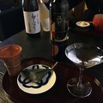 62816214 - 麩饅頭と日本酒セット