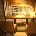 62817272 - 2名用カウンター席から眺める夜景