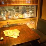 62817275 - 2名用テーブル席から眺める夜景