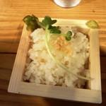 オノミチ潮ラーメン でんやす - +220円の茶漬けセット