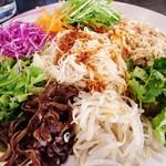 ヨヨナム - たっぷり野菜のカリカリ和え麺