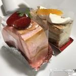 名物かまど - ケーキ_2017年2月