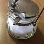 大島コーヒー店 - 懐かしいシュガーポット