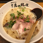 麺や 鳥の鶏次 - 鶏そば760円(税込)