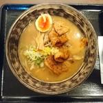 金澤味噌ラーメン 神仙 - 2017年1月 「炎・炙」肉盛味噌ラーメン 1100円