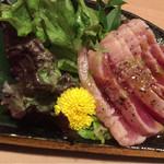 寿司割烹 匠 - 天然マグロのレアステーキ 990円