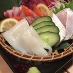 寿司割烹 匠 - 本日の刺身盛り合わせ 1190円