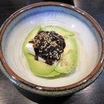 くるり  - アボガド豆腐と海苔のサラダ2017.02.19