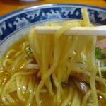 62823526 - にぼみその麺は中太デス