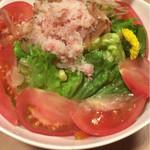 寿司割烹 匠 - 北海蟹の和風サラダ 790円