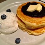 タブレスカフェ - ブルーベリーのパンケーキ