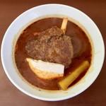 ネザーランド・カフェ - 料理写真:ハンバーグスープカレー、1200円です。