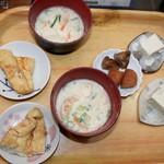 梅本とうふ店 - 料理写真:試食!