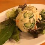 グリルヤマモト - ェフズポテトサラダ:250円