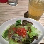 クレープリーカフェ - サラダ