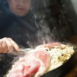 北海道産ひつじ肉 炭火兜ひつじ - 焼くべし焼くべし‼︎