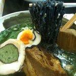 王龍 - 黒い麺