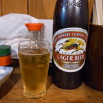 岸田屋 - キリンラガービール