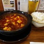 62830111 - 素晴らしい土鍋麻婆豆腐